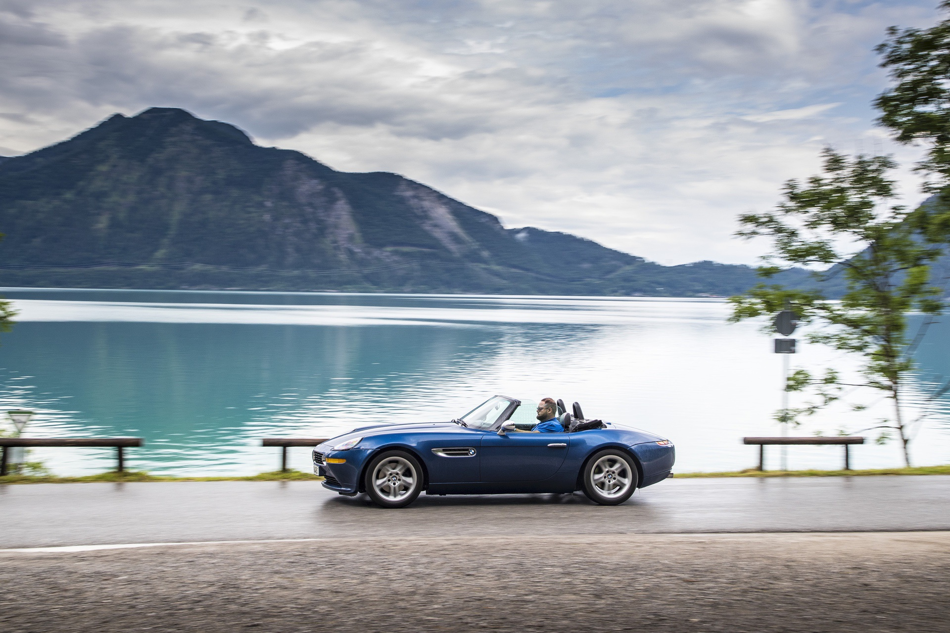 BMW Z8 test drive review 49