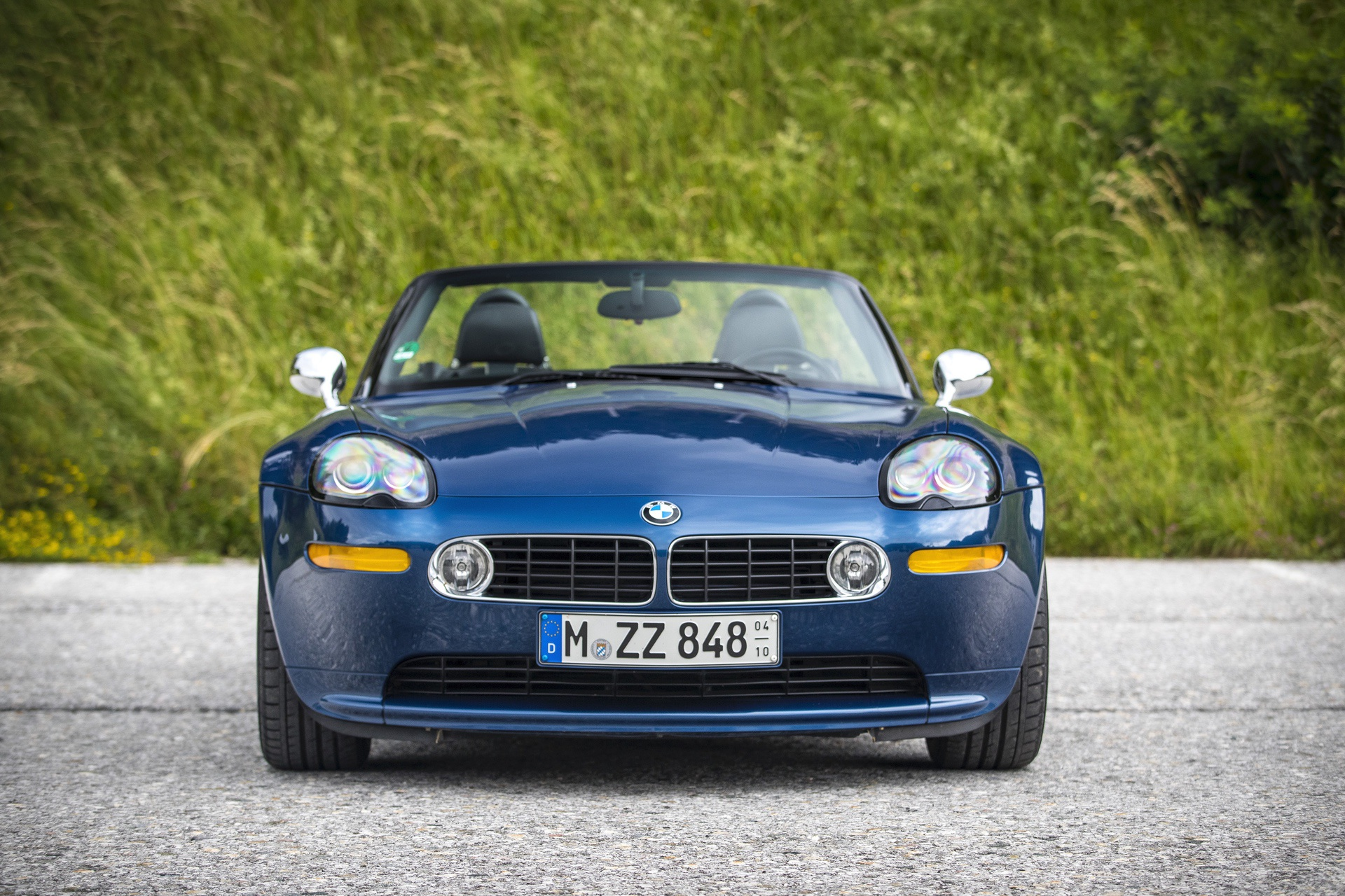 BMW Z8 test drive review 59