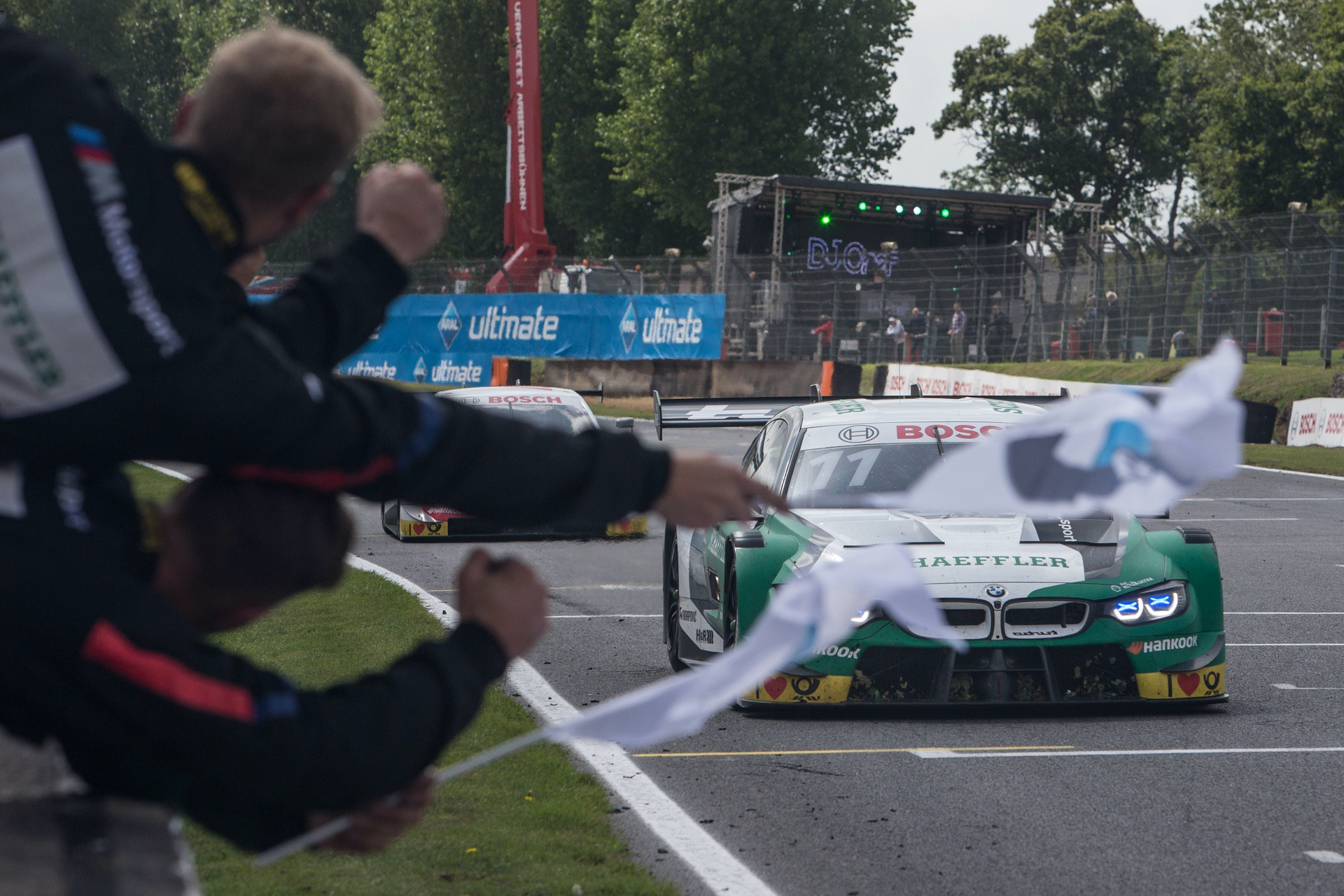 Marco Wittmann claims his fourth win of the season for BMW at Brands Hatch