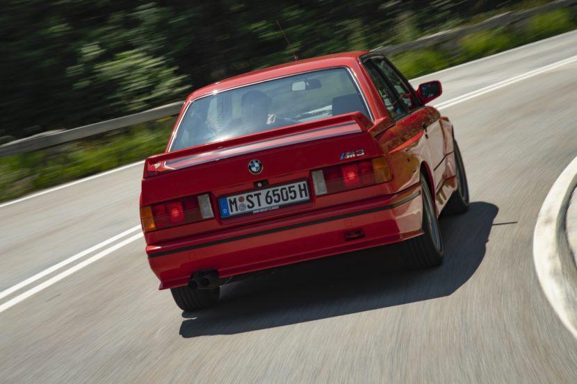 E30 BMW M3 test drive 23 830x553