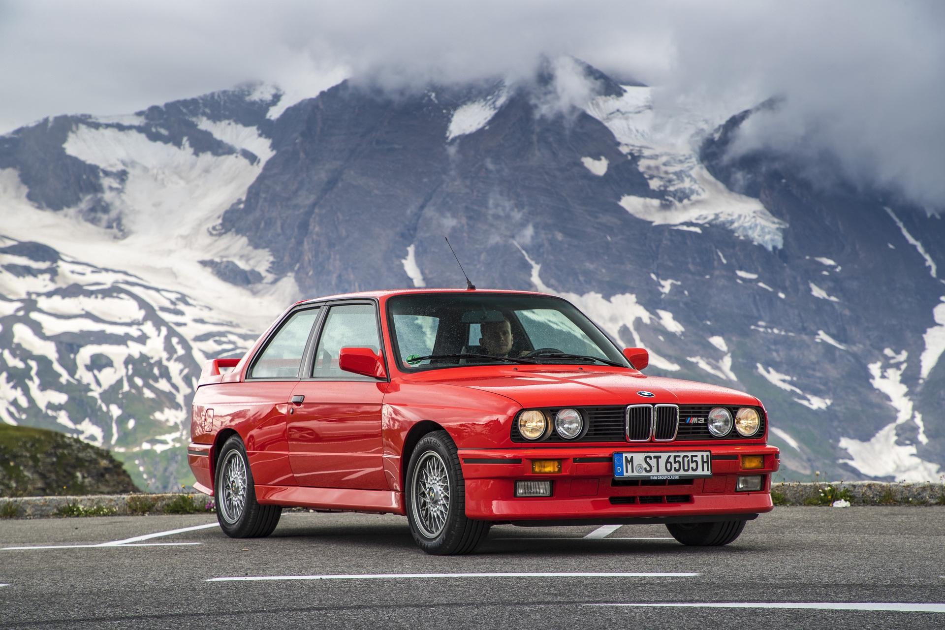 E30 BMW M3 test drive 47