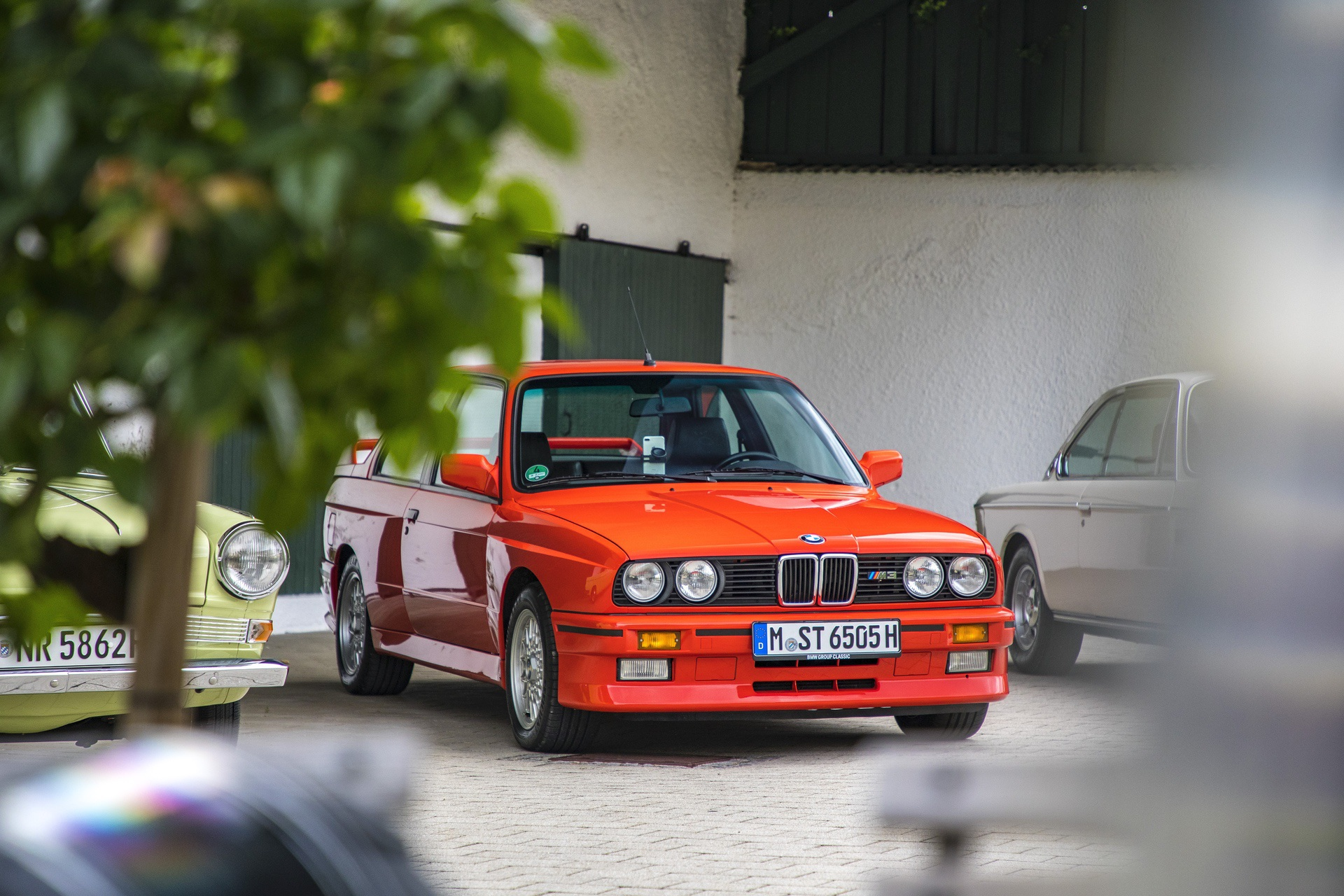 E30 BMW M3 test drive 59