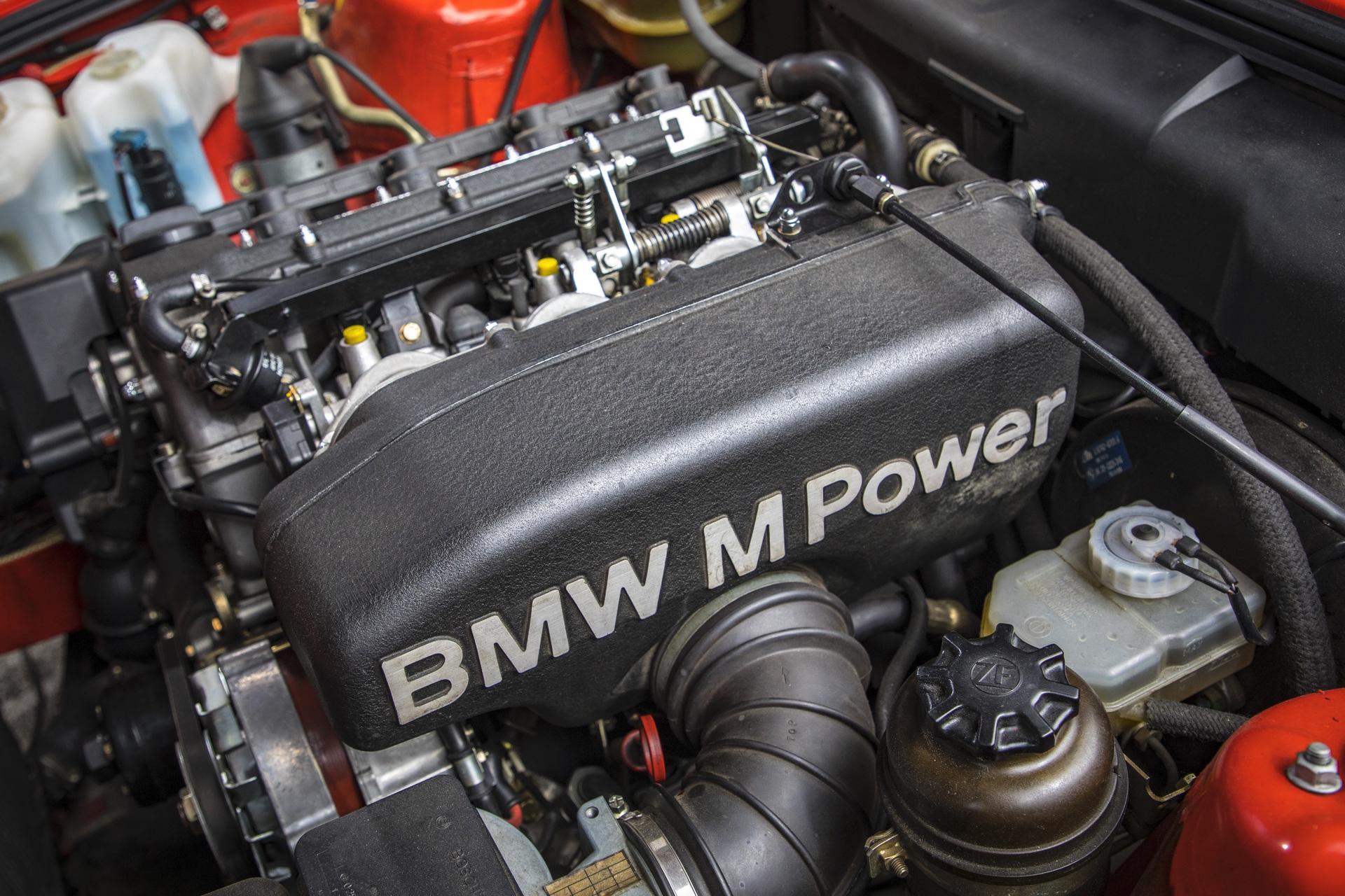 E30 BMW M3 test drive 76