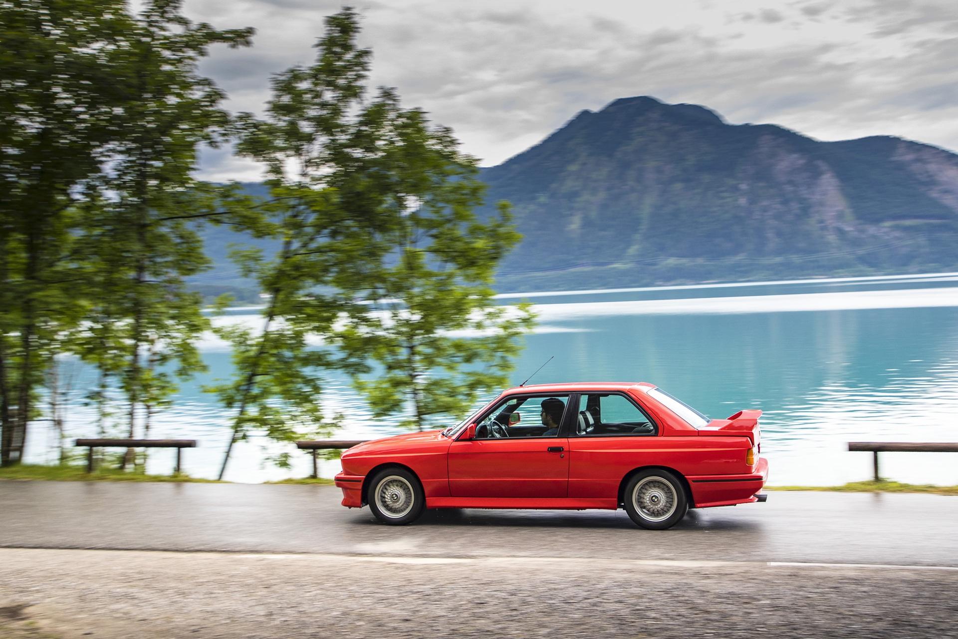 E30 BMW M3 test drive 86