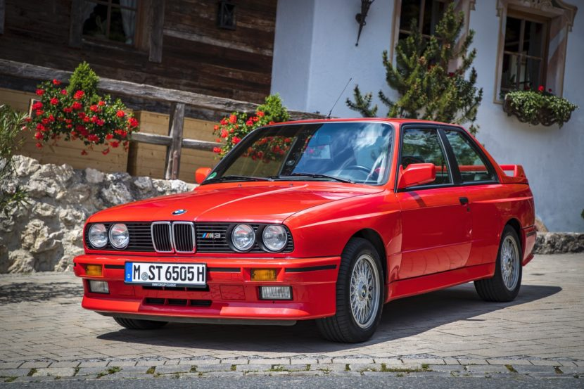E30 BMW M3 test drive 95 830x553