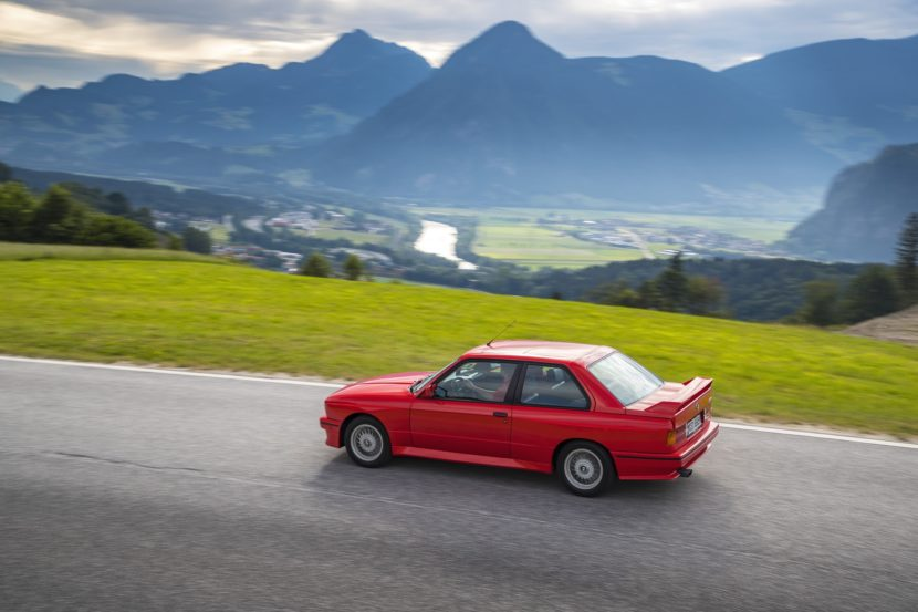 E30 BMW M3 test drive 99 830x553