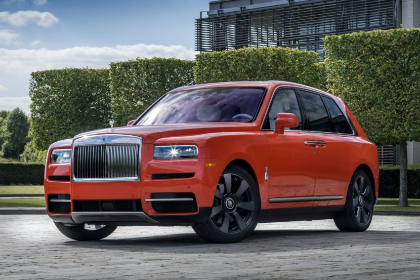 2019 Rolls Royce Cullinan: Design, Powertrain, Release >> Pebble Beach 2019 Rolls Royce Cullinan In Fux Orange