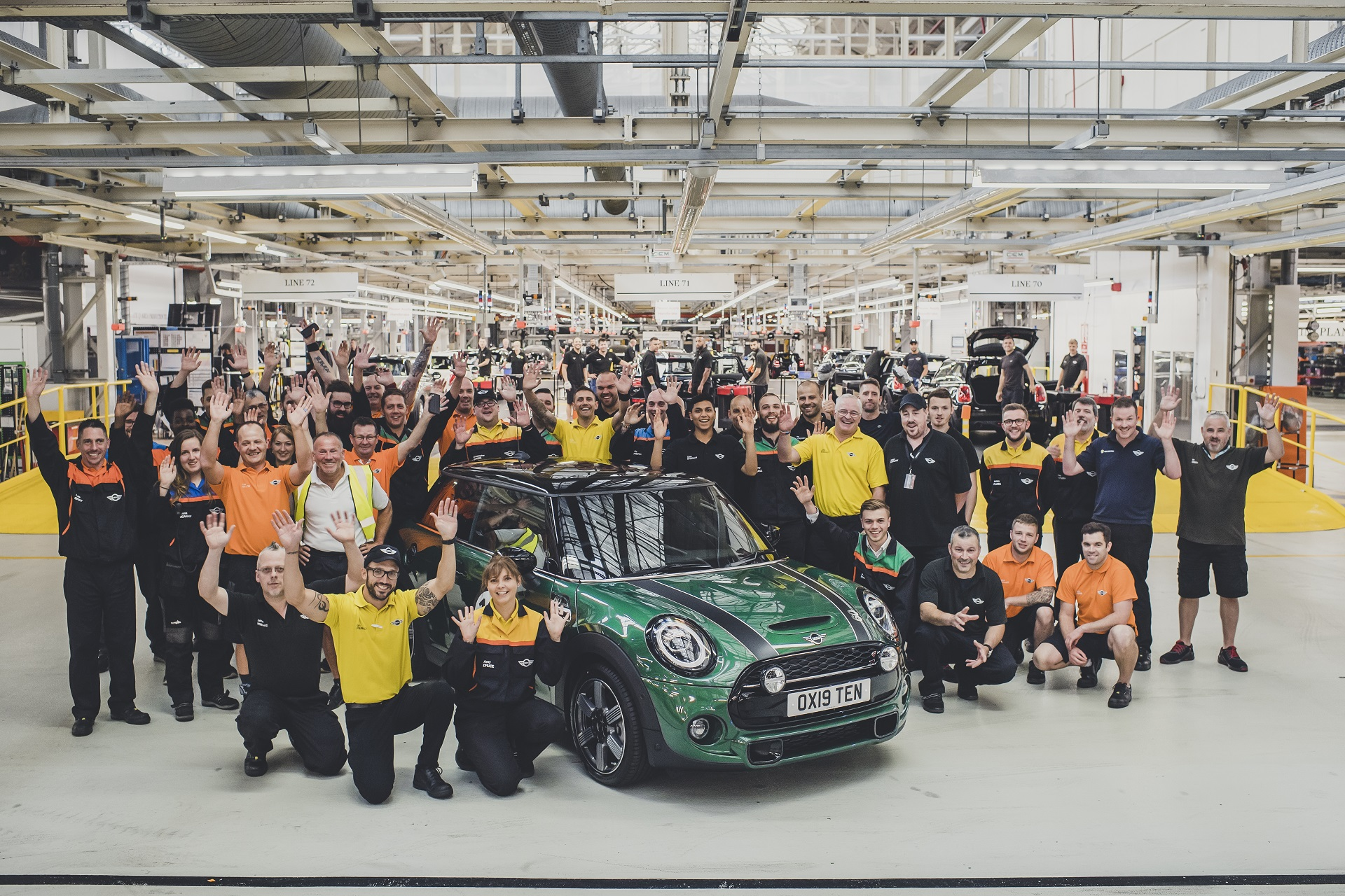 Ten Millionth MINI Rolls Off Assembly Line in Oxford