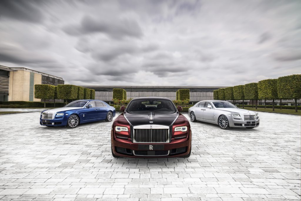 Video: Rolls-Royce Introduces the Ghost Zenith Collection