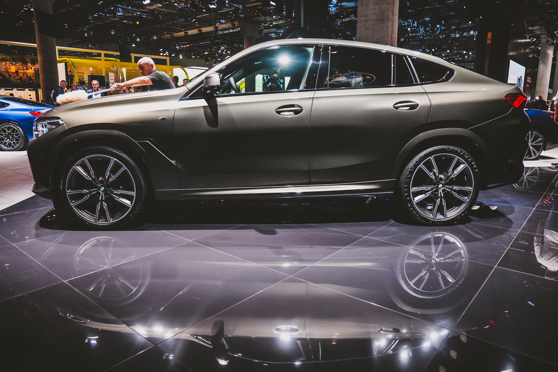 2020 Bmw X6 Live Photos From Frankfurt Auto Show
