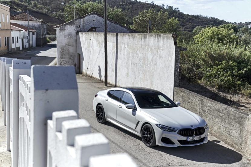 2020 BMW 8 Series Gran Coupe mineral white 18 830x554