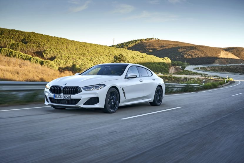 2020 BMW 8 Series Gran Coupe mineral white 55 830x553