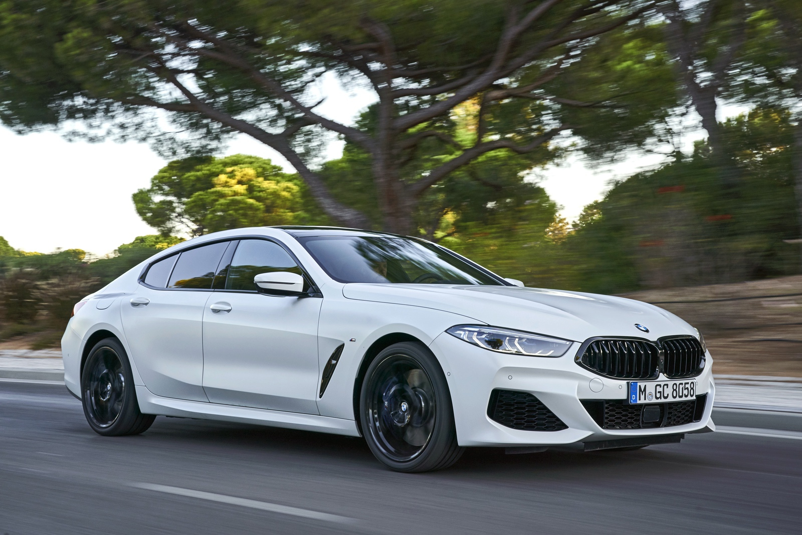 2020 BMW 8 Series Gran Coupe mineral white 67