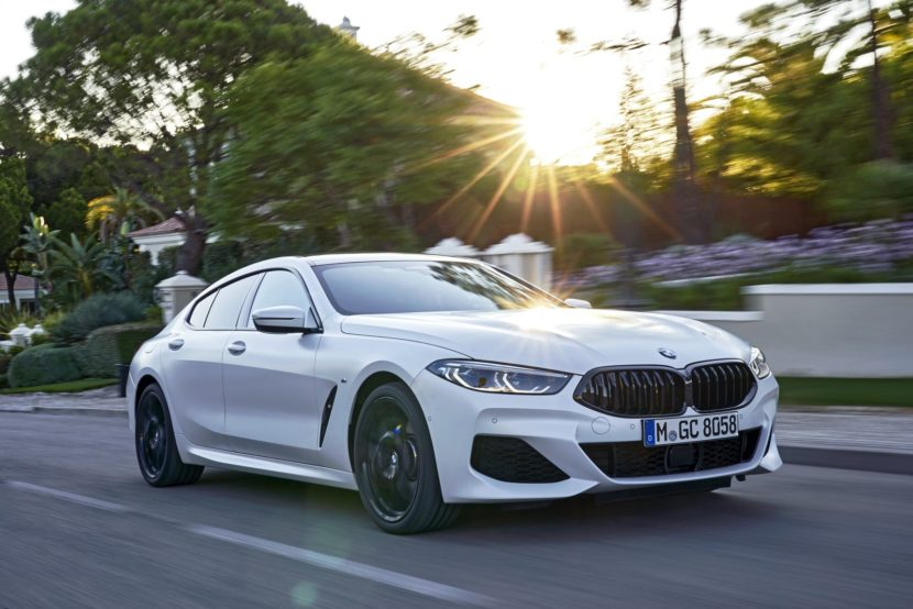 2020 BMW 8 Series Gran Coupe mineral white 68 830x554
