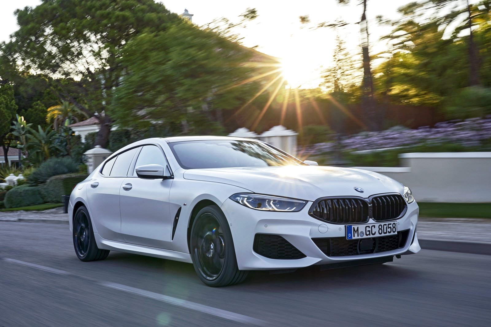 2020 Bmw 8 Series Gran Coupe White