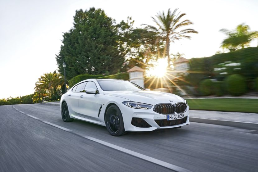 2020 BMW 8 Series Gran Coupe mineral white 72 830x554