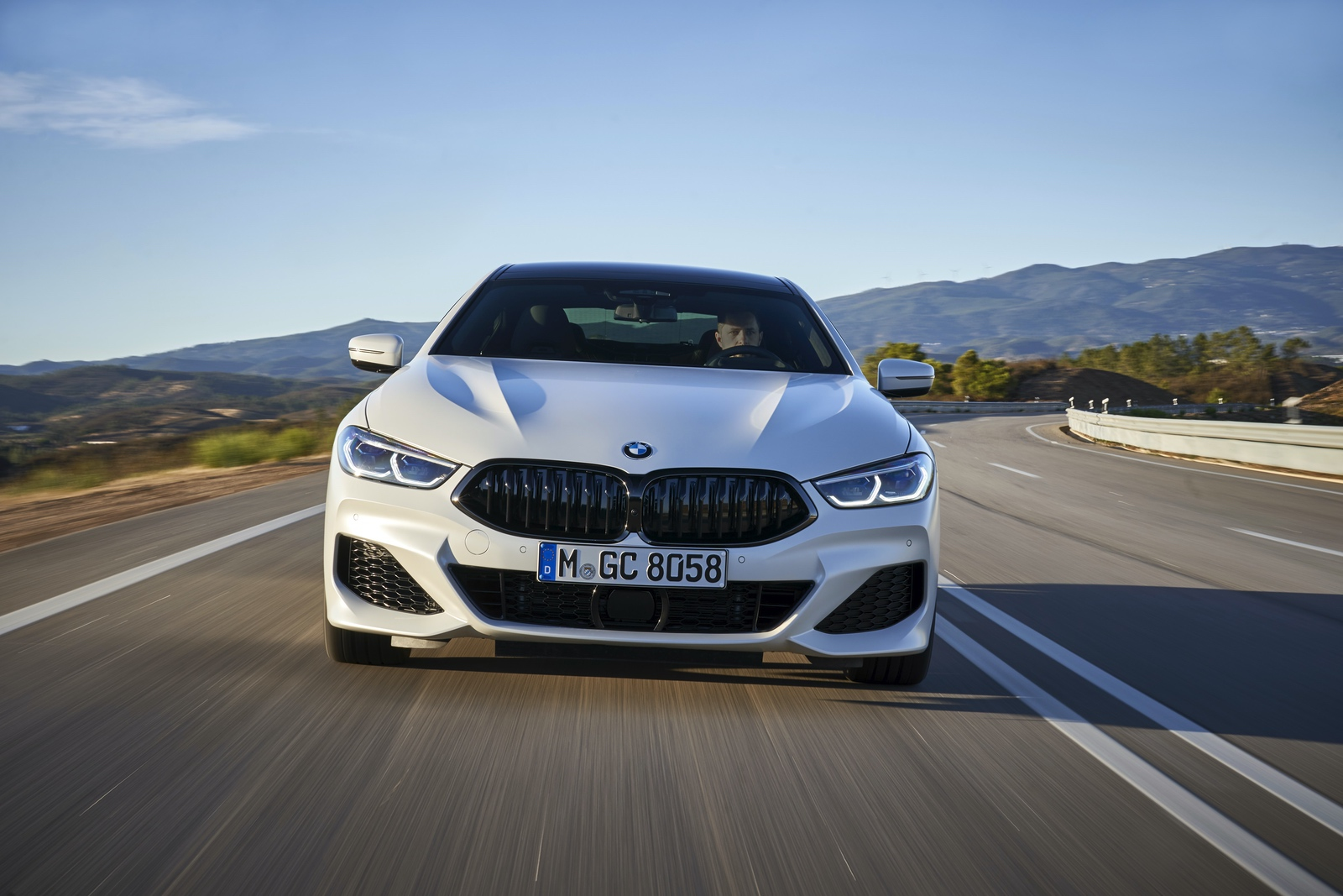 2020 BMW 8 Series Gran Coupe mineral white 76