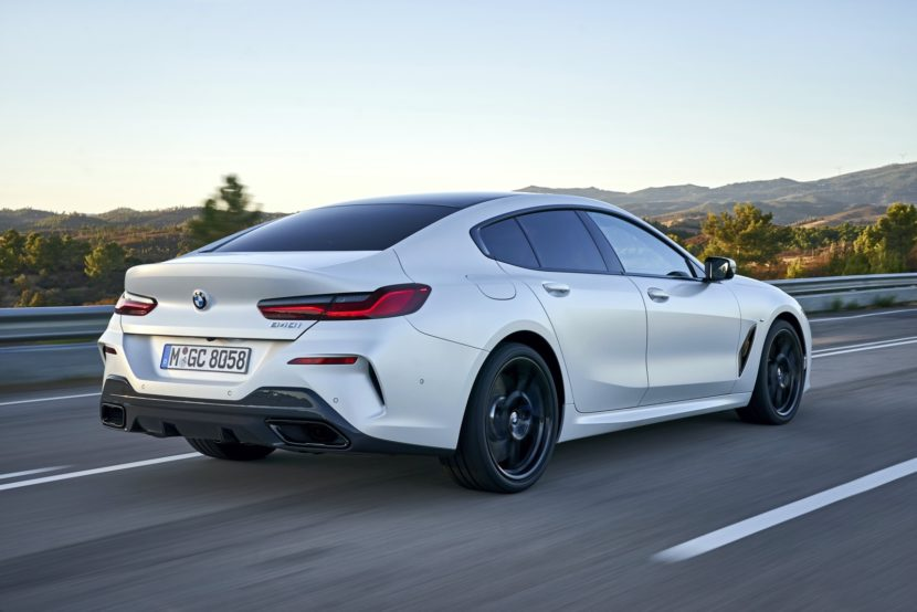 2020 BMW 8 Series Gran Coupe mineral white 85 830x554