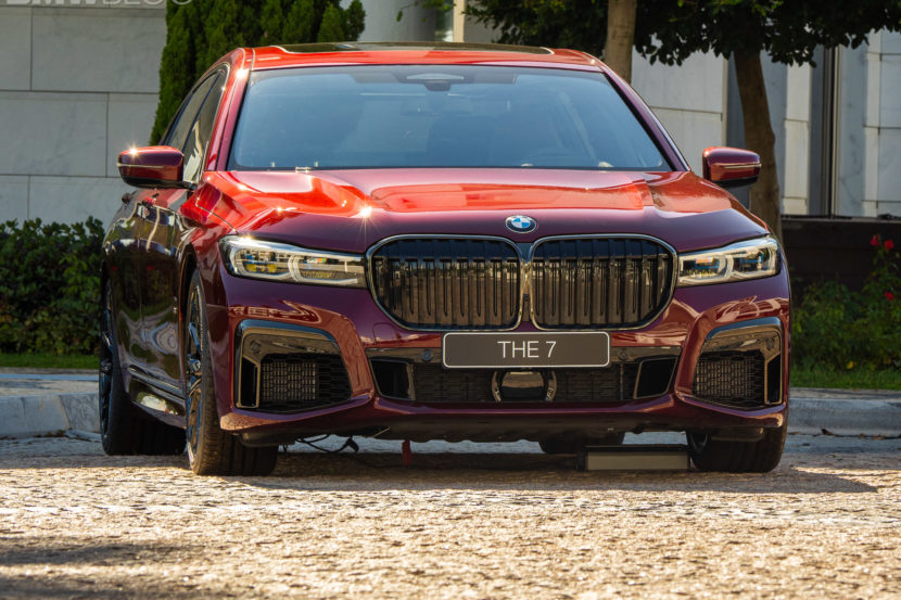2020 BMW M760Li Aventurine Red 10 830x553