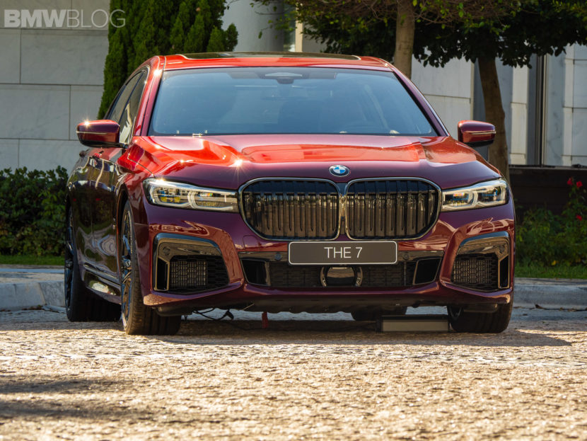 2020 BMW M760Li Aventurine Red 10 830x623