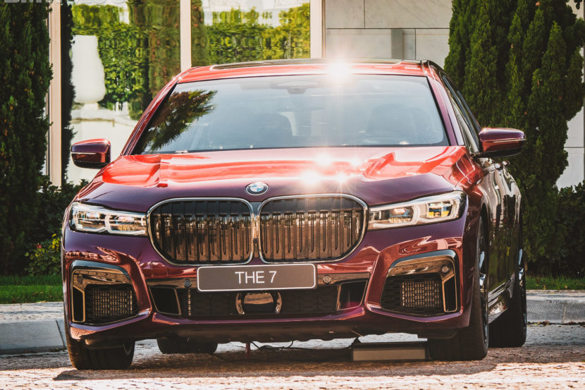 2020 BMW M760Li Aventurine Red 23 830x553