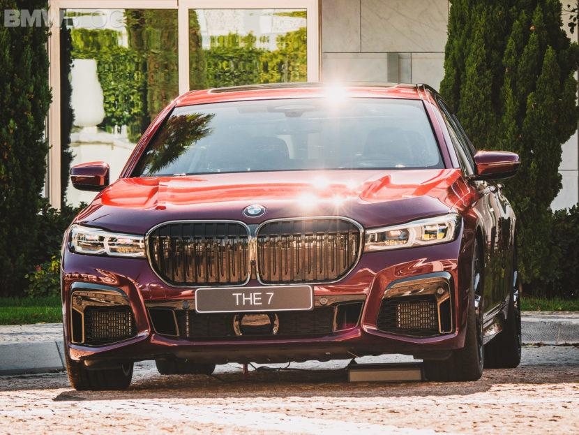 2020 BMW M760Li Aventurine Red 23 830x623