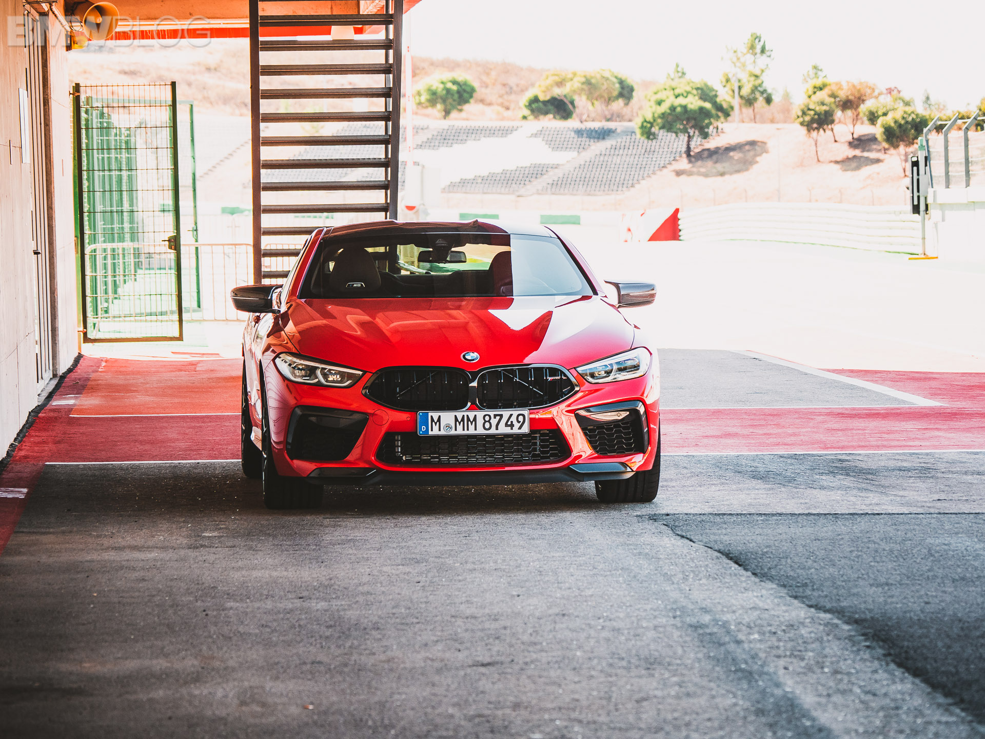 2020 BMW M8 COUPE FIRE RED 1