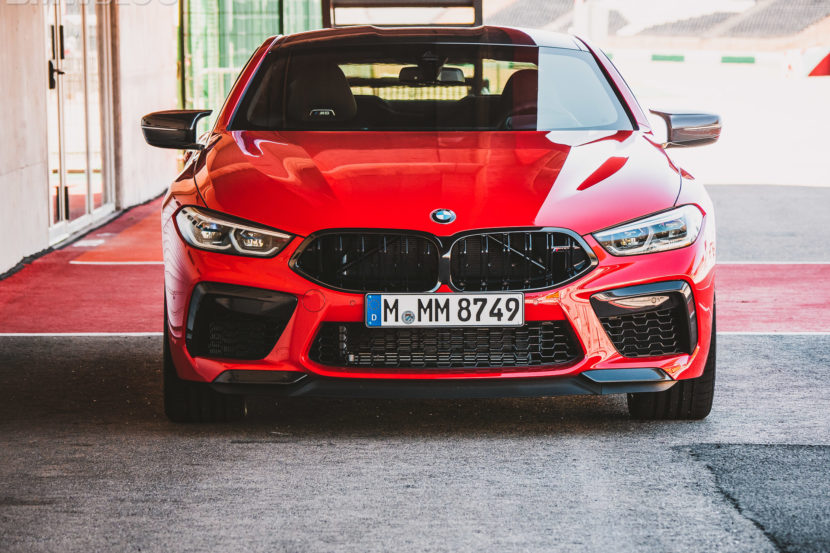 2020 BMW M8 COUPE FIRE RED 2 830x553