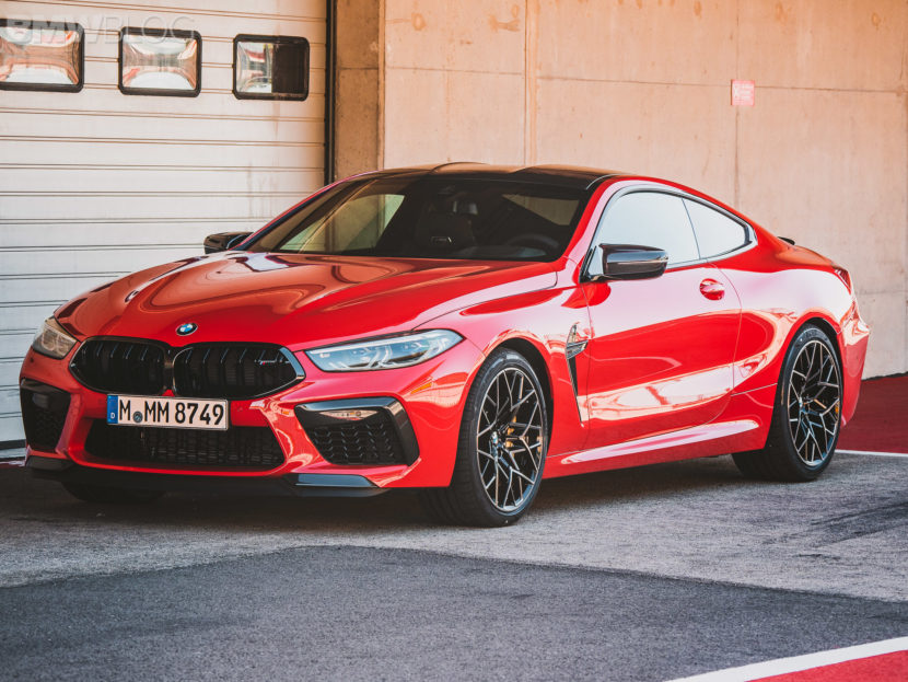 2020 BMW M8 COUPE FIRE RED 5 830x623
