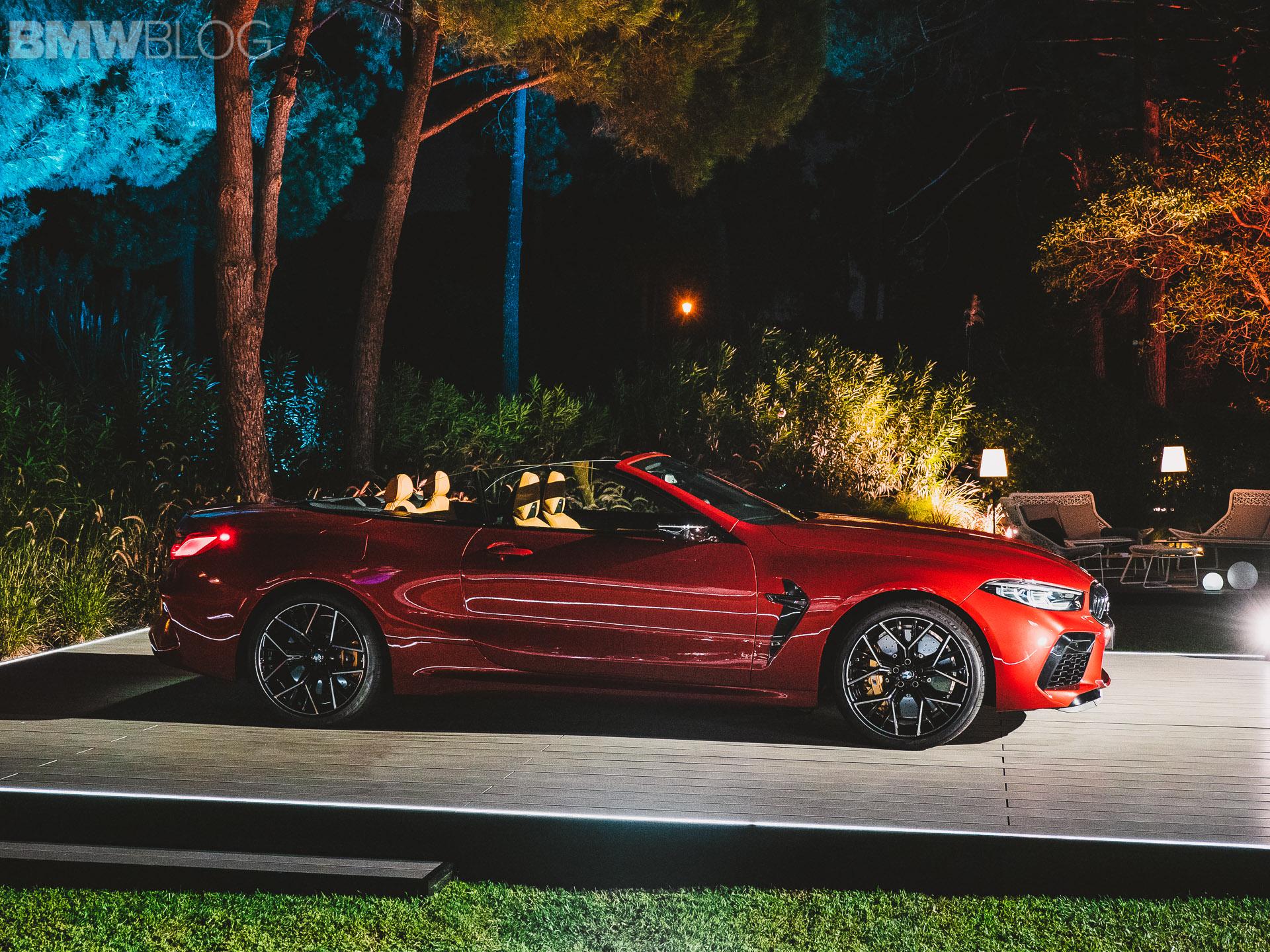 2020 BMW M8 Convertible live photos 3