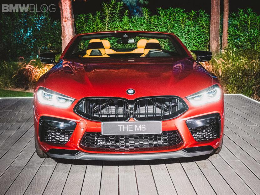 2020 BMW M8 Convertible live photos 4 830x623