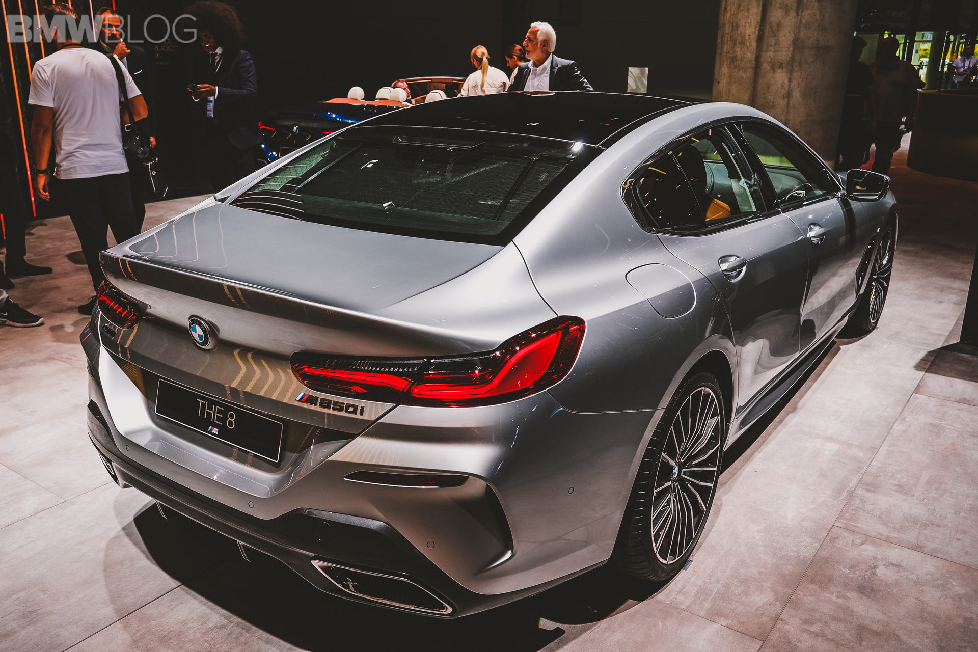 2020 Bmw M850i Gran Coupe Pure Metal Live From Frankfurt