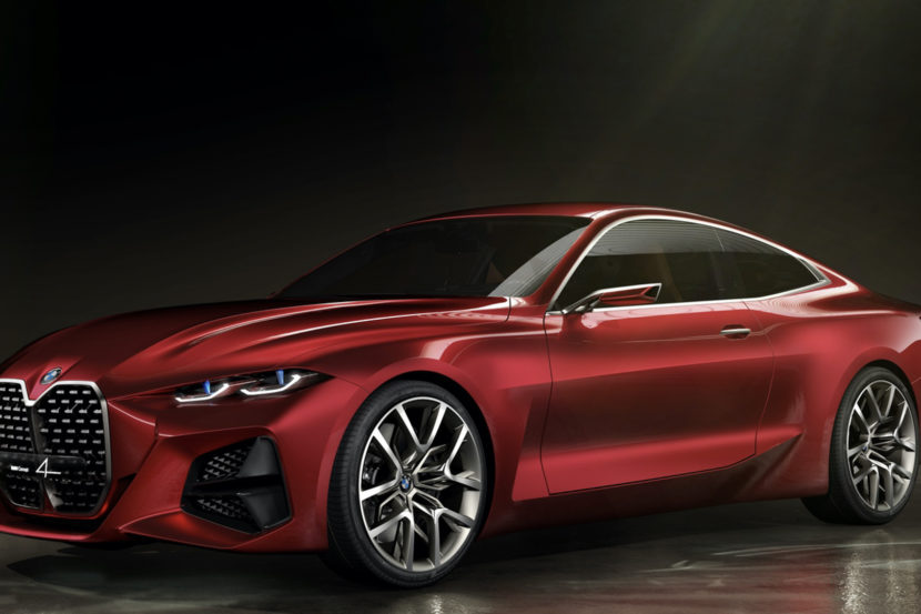 BMW Concept 4 Comparison 4 of 6 830x553