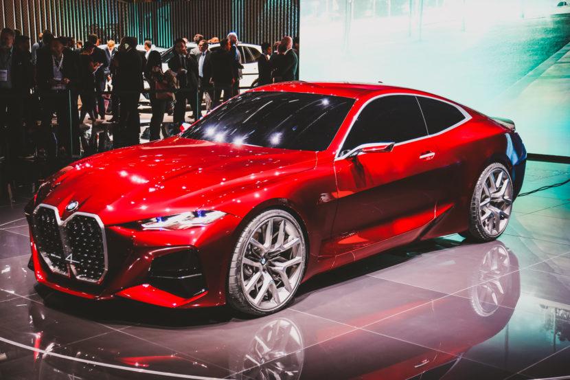 BMW Concept 4 Series frankfurt 5 830x553
