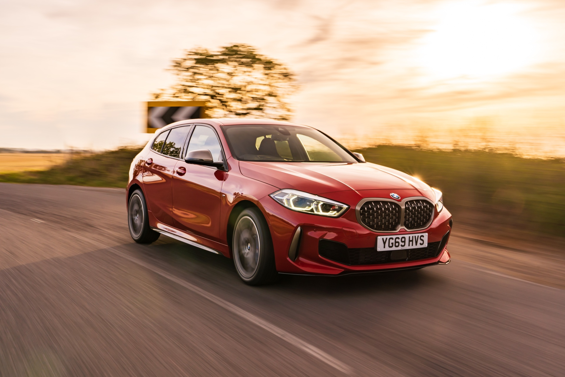 BMW M135i Melbourne Red 36