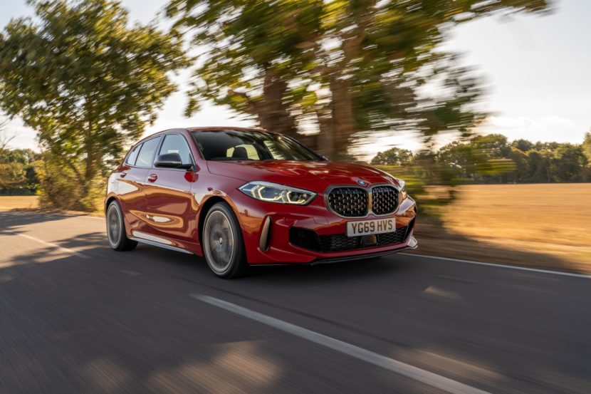 BMW M135i Melbourne Red 7 830x553