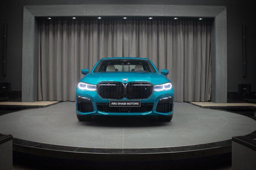BMW M760Li Atlantis Blue 0 830x553