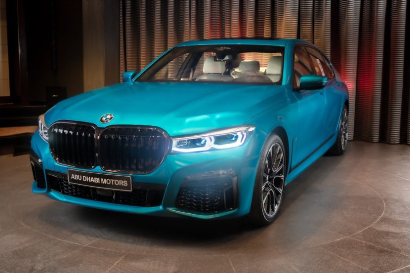BMW M760Li Atlantis Blue 1 830x553