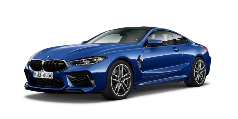 BMW M8 Coupe Atlantis Blue 830x415