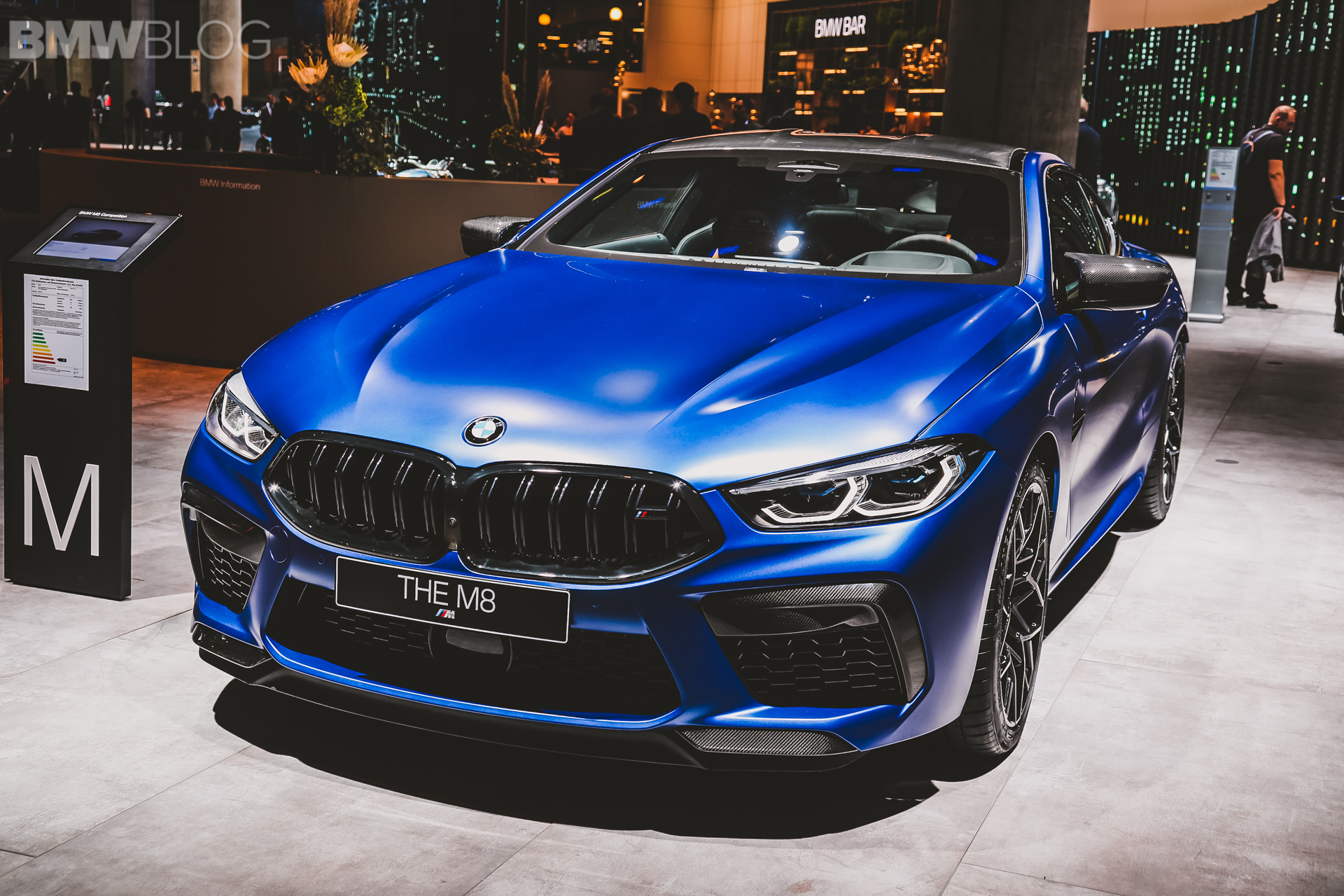 2020 BMW M8 Coupe in Frozen Marina Bay Blue – Best Color Yet?