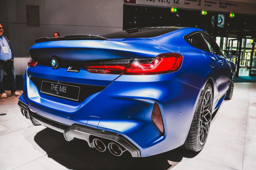 Bmw Of Newton >> 2019 IAA: BMW M8 Competition in Frozen Marina Bay Blue