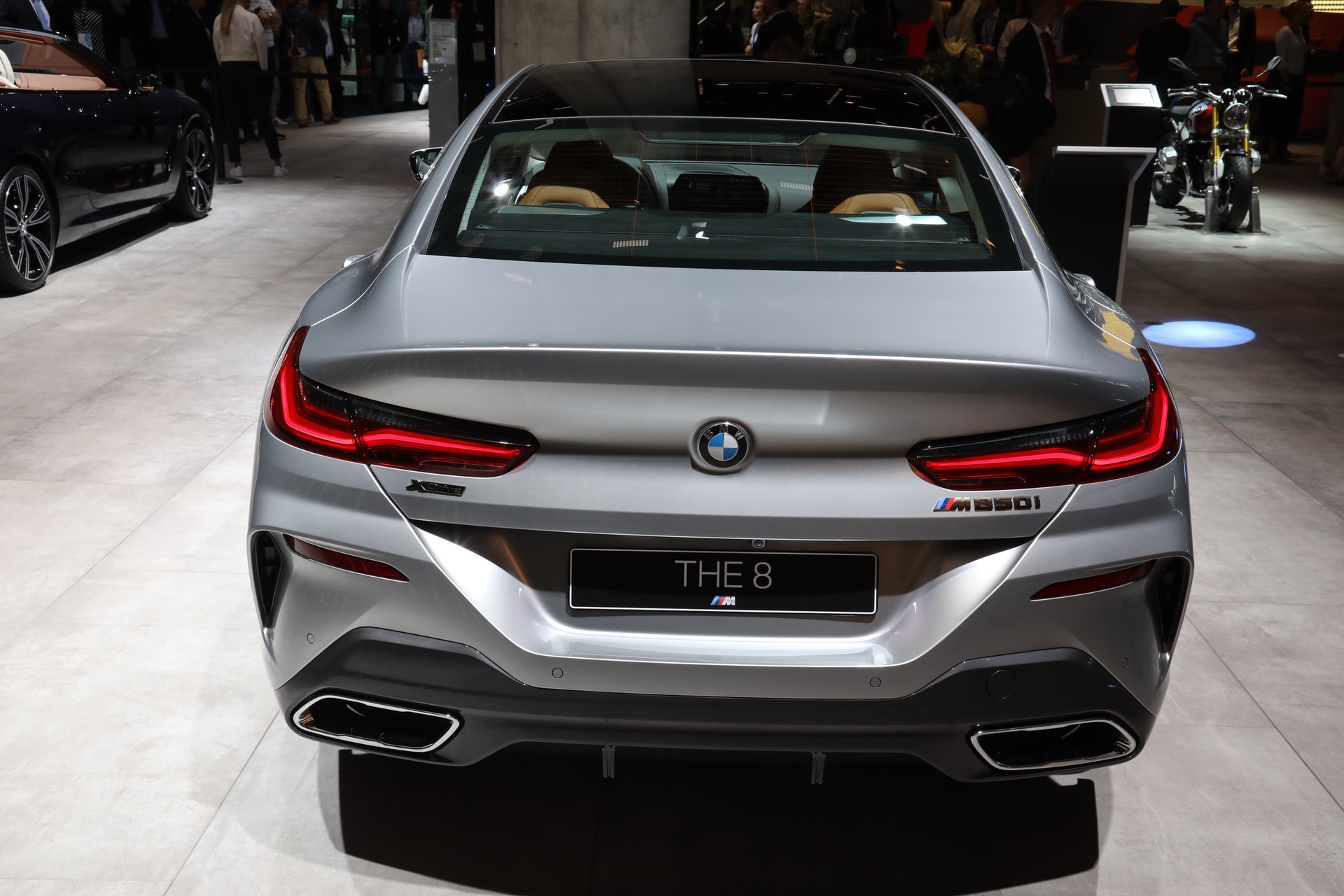 2019 IAA: BMW 8 Series Gran Coupe in Pure Metal Silver – One Of The Most Expensive Color
