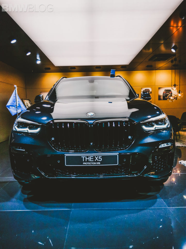 BMW European Delivery >> 2019 IAA: The Bulletproof BMW X5 Protection VR6 makes an appearance
