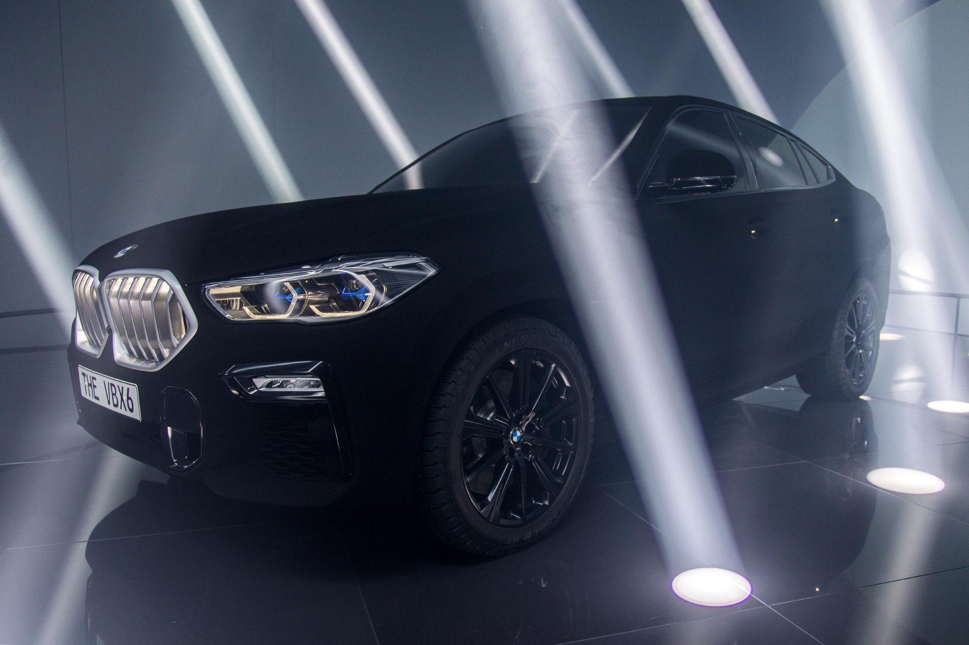 BMW X6 Vantablack dark 0
