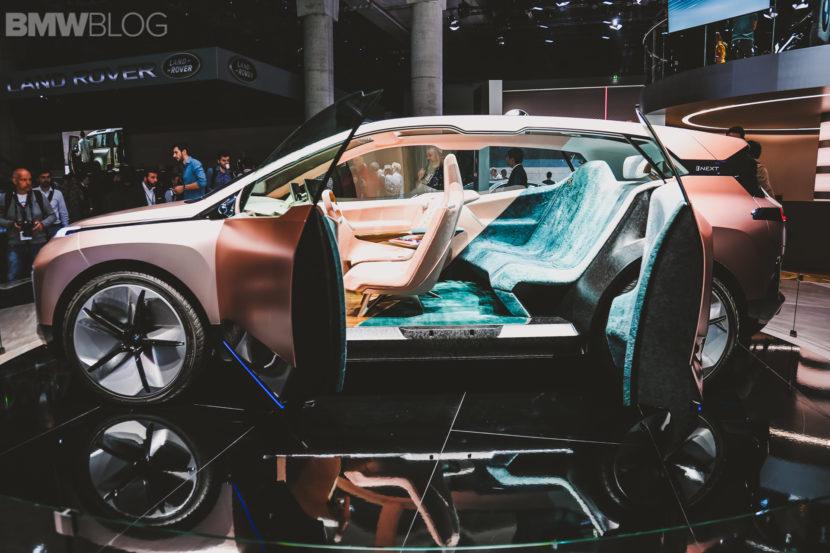 BMW iNext Frankfurt Auto Show 14 830x553