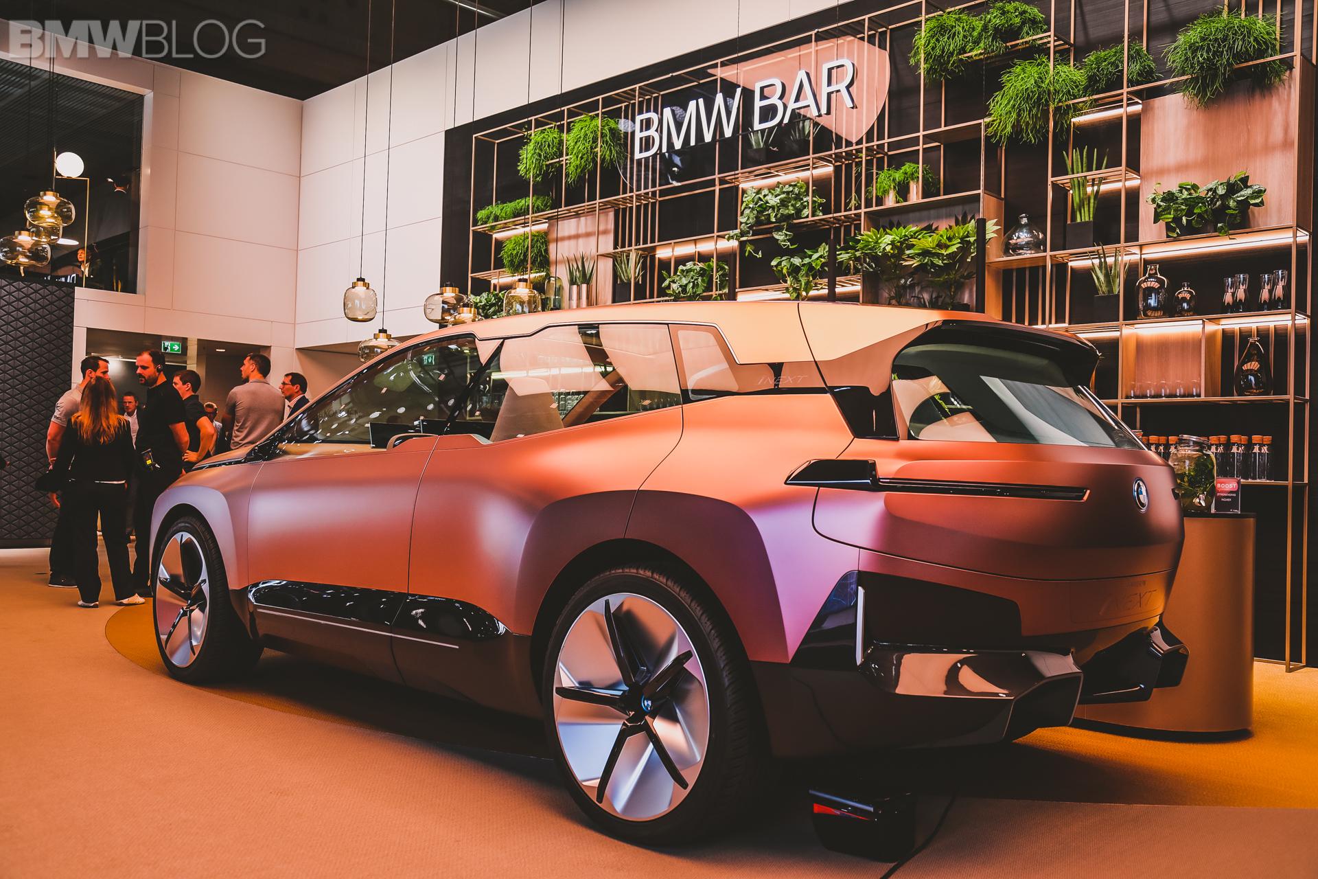 BMW iNext Frankfurt Auto Show 2