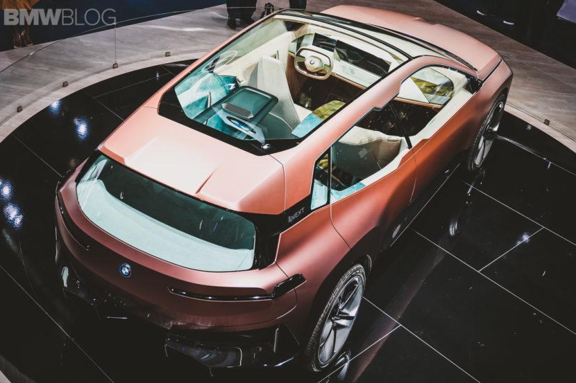 BMW iNext Frankfurt Auto Show 20 830x553