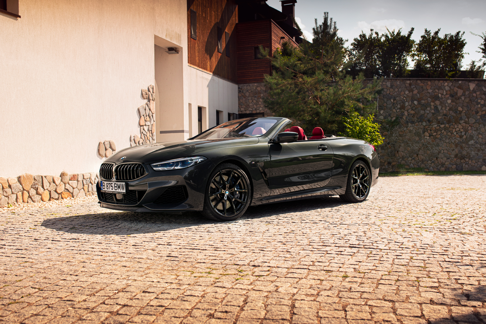 A fantastic photoshoot with the new BMW M850i Convertible