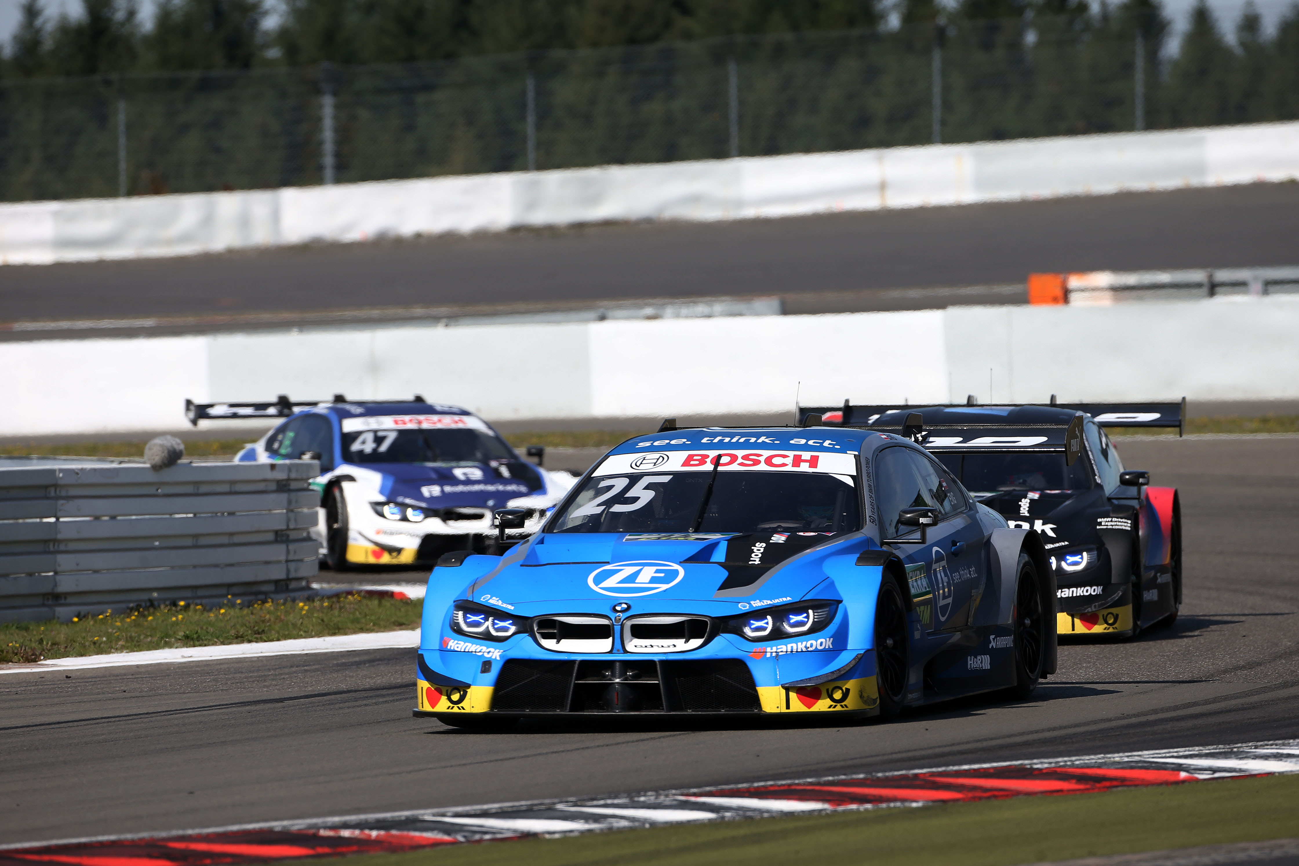 Philipp Eng and BMW DTM finishes 8th at Sunday's Nürburgring race