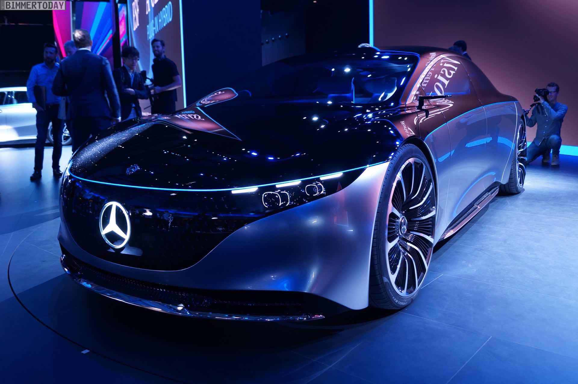 Mercedes Vision EQS rethinks the S-Class as all-electric limousine